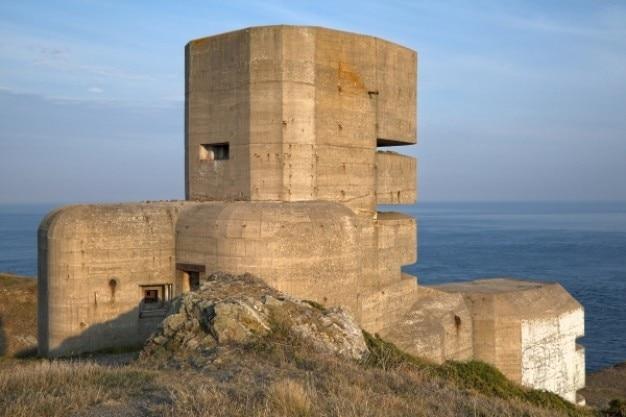 Guernsey bunker hdr Kostenlose Fotos
