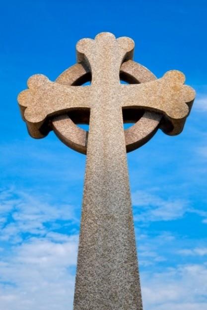 Guernsey friedhof keltisches kreuz hdr Kostenlose Fotos