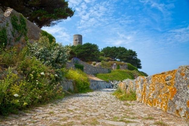 Guernsey landschaften hdr Kostenlose Fotos
