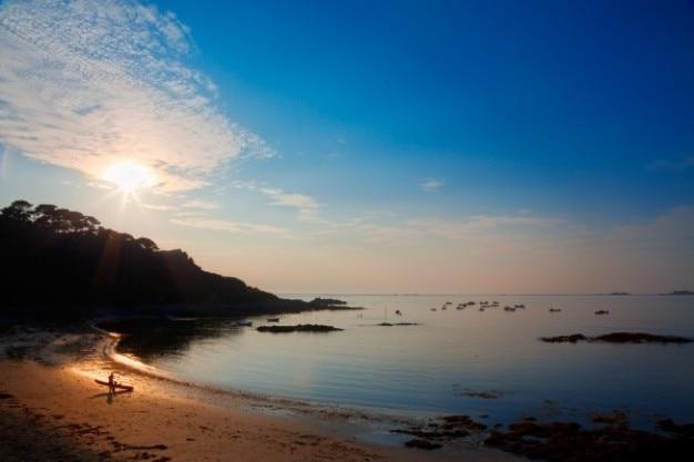 Guernsey sonnenuntergang hdr Kostenlose Fotos