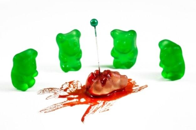 Gummibärchen hassverbrechen Kostenlose Fotos