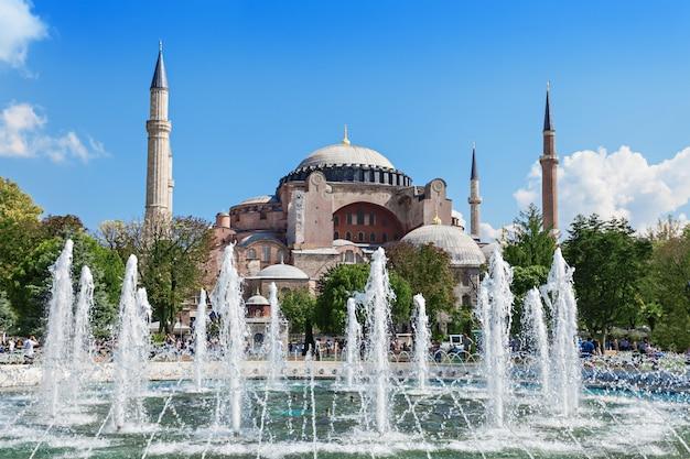Hagia sophia, istanbul Premium Fotos