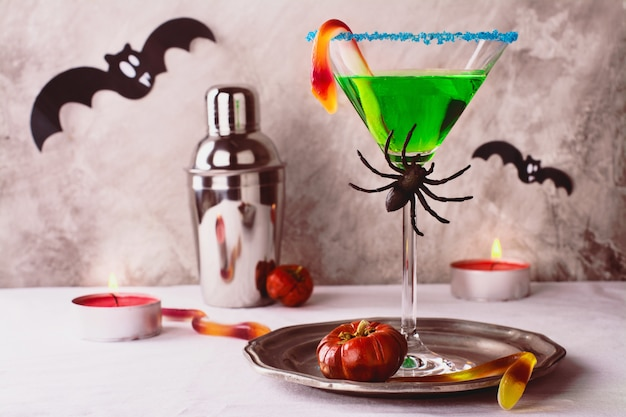 Halloween cocktail hexengebräu Premium Fotos