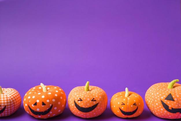 Halloween weiche glückliche kürbisse Kostenlose Fotos