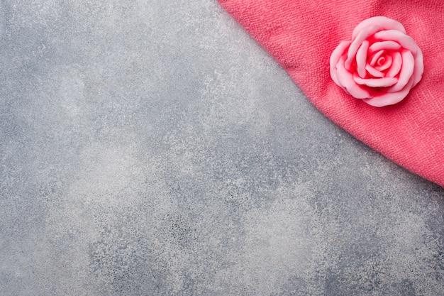 Handgemachte rosenseife, concept spa kosmetik und sauberkeit Premium Fotos
