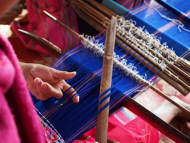 Handgemachtes textil Premium Fotos