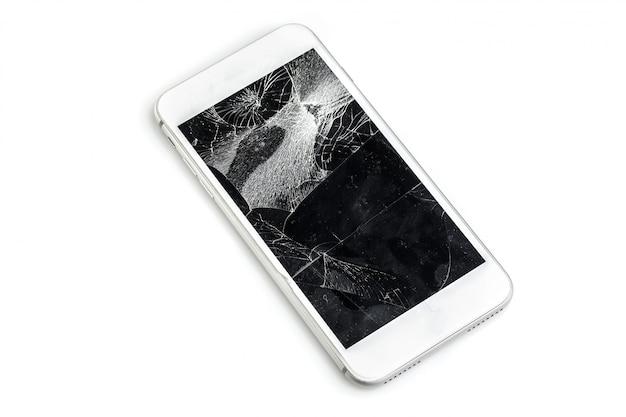 Handy mit kaputtem bildschirm Premium Fotos