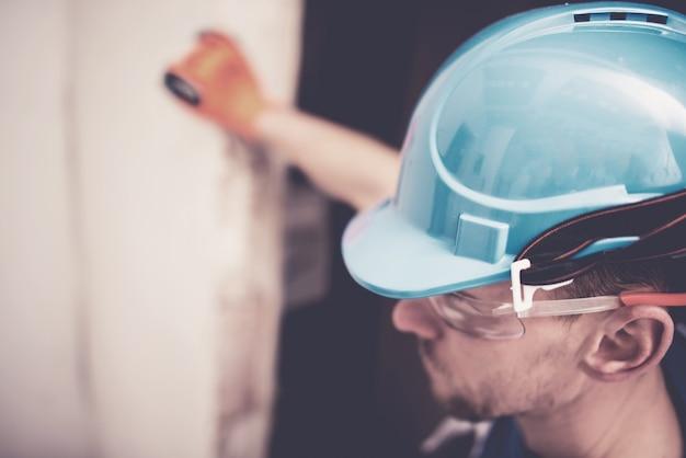 Hard hat construction zone Kostenlose Fotos