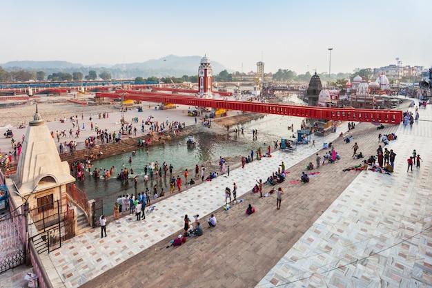 Haridwar in indien Premium Fotos