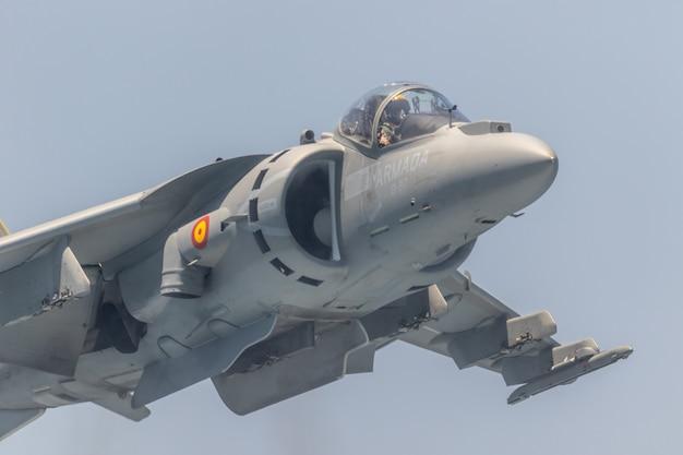 Harrier plus flugzeug Premium Fotos