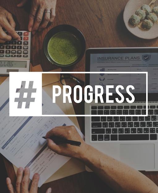 Hashtag word business unternehmen Kostenlose Fotos