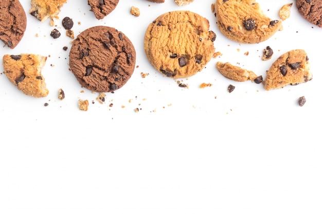 Hausgemachte schokoladenkekse Premium Fotos