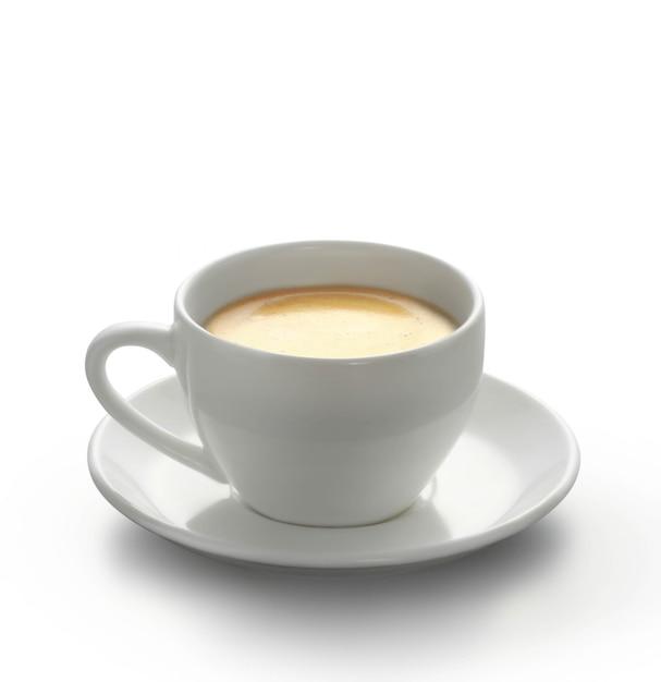 Heißen kaffee auf dem tisch Premium Fotos