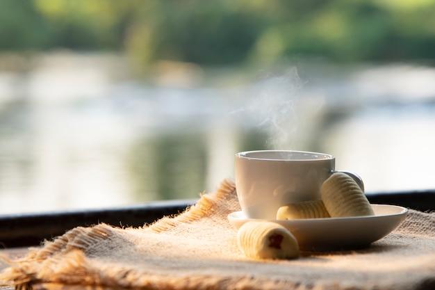 Heißer kaffee. Premium Fotos