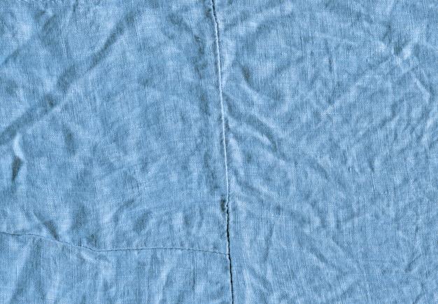 Hellblauer textilhintergrund Premium Fotos