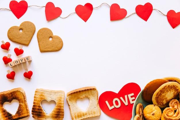 Herz Und Valentinstag Essen Download Der Kostenlosen Fotos