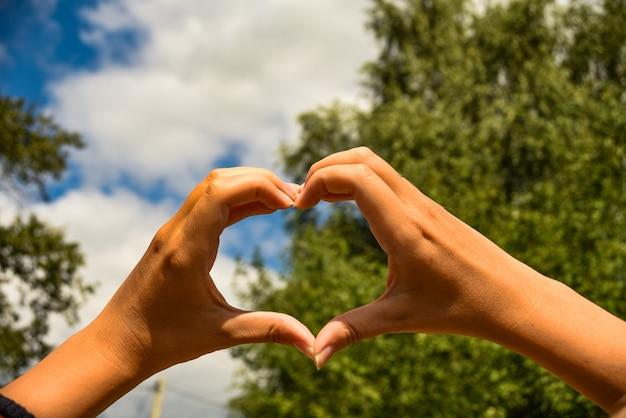 herzform universelles zeichen für liebe und romantik