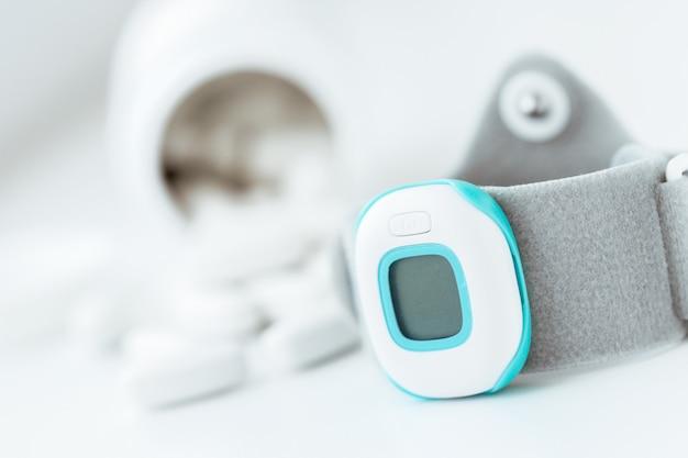 Herzfrequenz-messgerät Premium Fotos