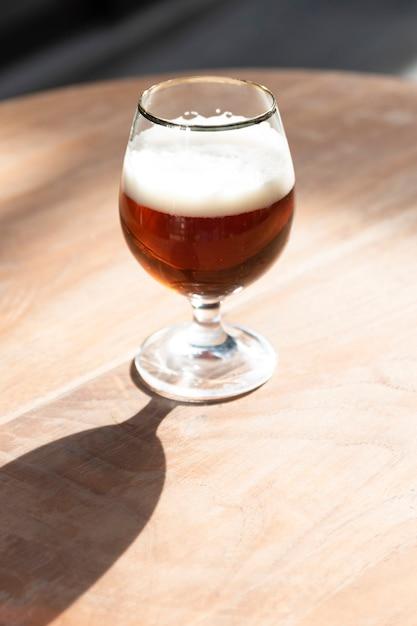 High angle artizanal bier Kostenlose Fotos