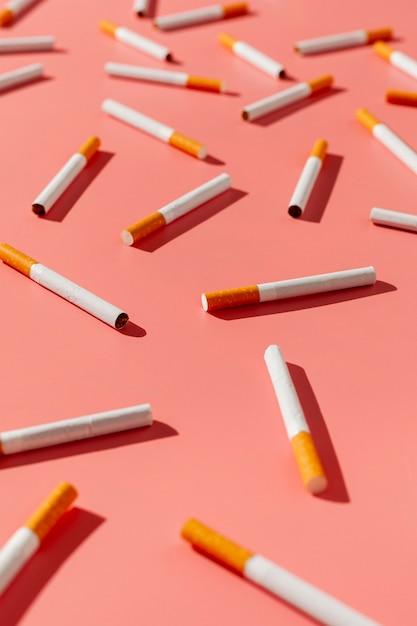 High angle raucherentwöhnung Kostenlose Fotos