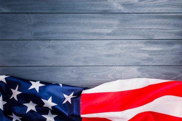 Hintergrund der amerikanischen flagge mit exemplar Kostenlose Fotos
