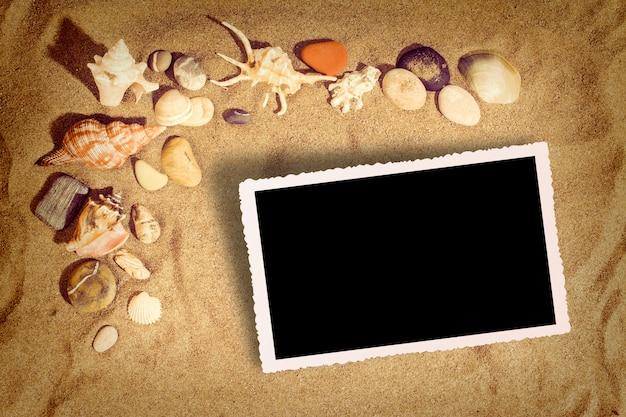 Hintergrundbild am strand Premium Fotos