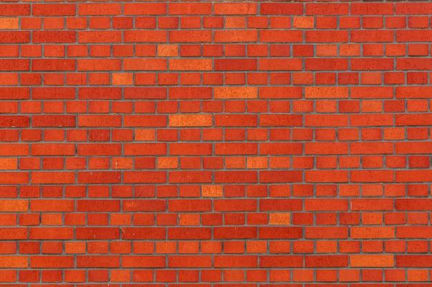 Hintergrundmaterial der roten backsteinmauer Premium Fotos