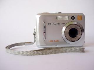 Hitachi digital-kamera, seite, cam | Kostenlose Foto