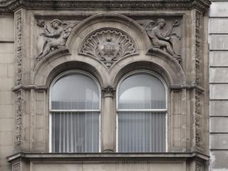 Hochrelief ornamentalen fenster Kostenlose Fotos