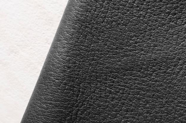 Hochwertiges ledermaterial auf weißem hintergrund Kostenlose Fotos
