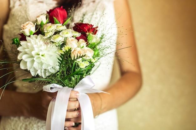 Hochzeit, braut, bräutigam Premium Fotos