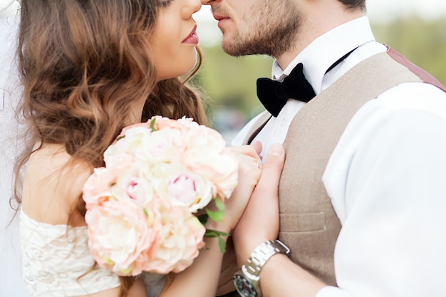 Hochzeitsfoto-shooting Premium Fotos