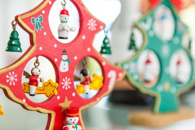 Hölzerne weihnachtspuppen Kostenlose Fotos