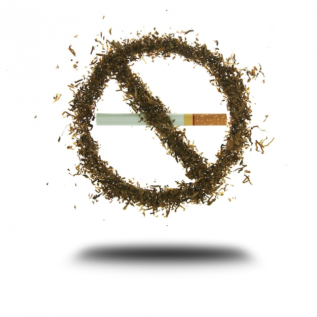 Hör auf zu rauchen. Premium Fotos