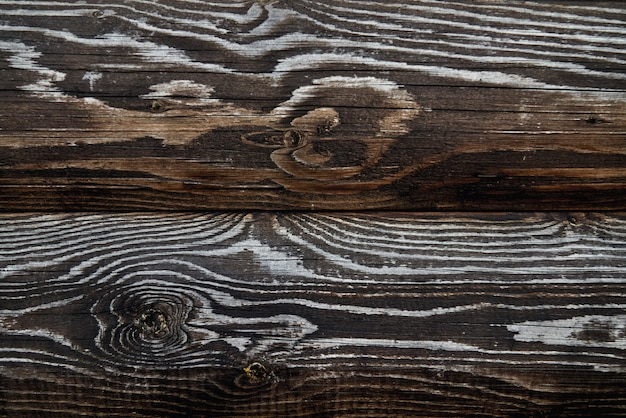 Holzstruktur von dunkelbraunen brettern. Kostenlose Fotos