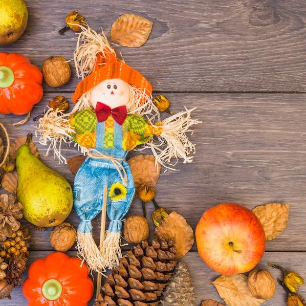 Holztisch mit gemüse bedeckt Kostenlose Fotos