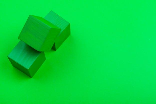 Holzwürfelbausteine Premium Fotos