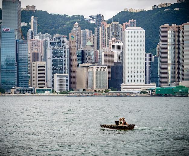 Hong kong central Premium Fotos