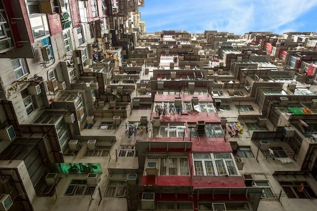 Hong kong wohnebene Premium Fotos