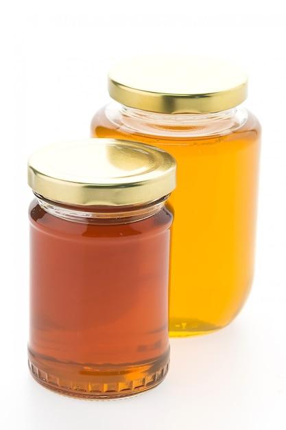 Honig in gläsern Kostenlose Fotos