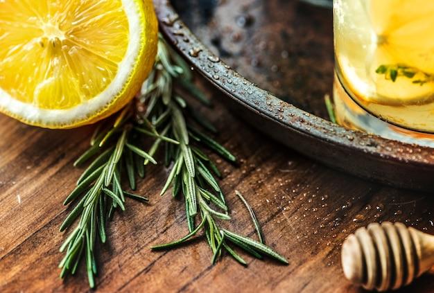 Honig zitrone soda getränke fotografie Kostenlose Fotos
