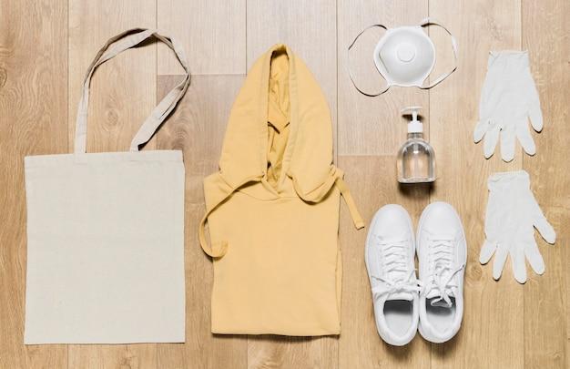 Hoodie mit schutzausrüstung Kostenlose Fotos