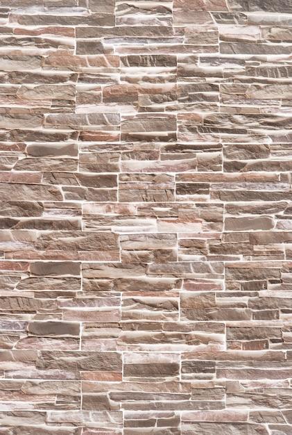 Horizontale moderne backsteinmauer für muster und hintergrund. Premium Fotos