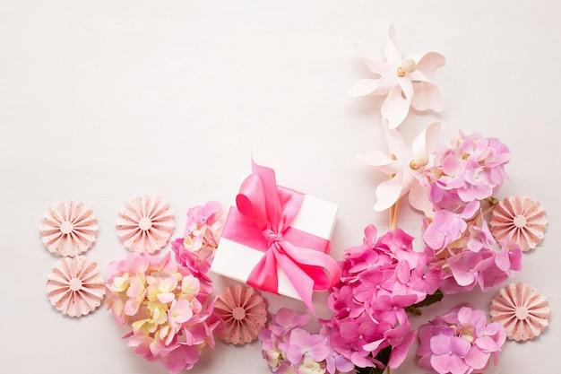Hortensienblüten Premium Fotos