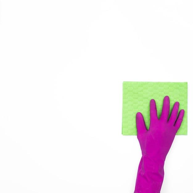 Housekeeping-konzept mit reinigungsmitteln Kostenlose Fotos