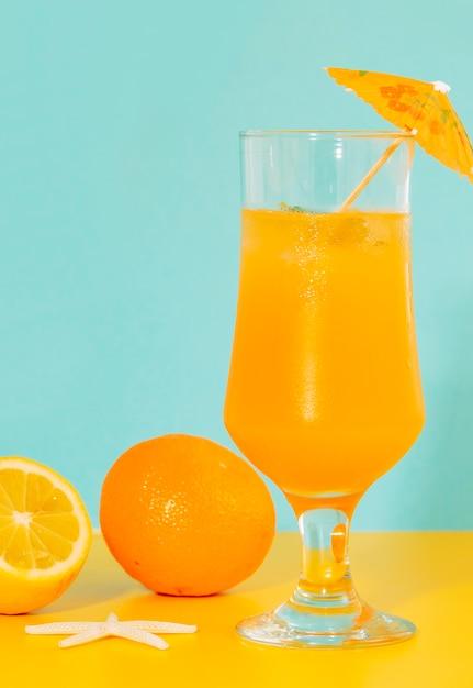 Hurricane glas wohlriechendes orange cocktail Kostenlose Fotos
