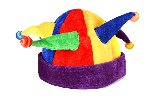 Hut für einen spaßvogel und einen clown Premium Fotos