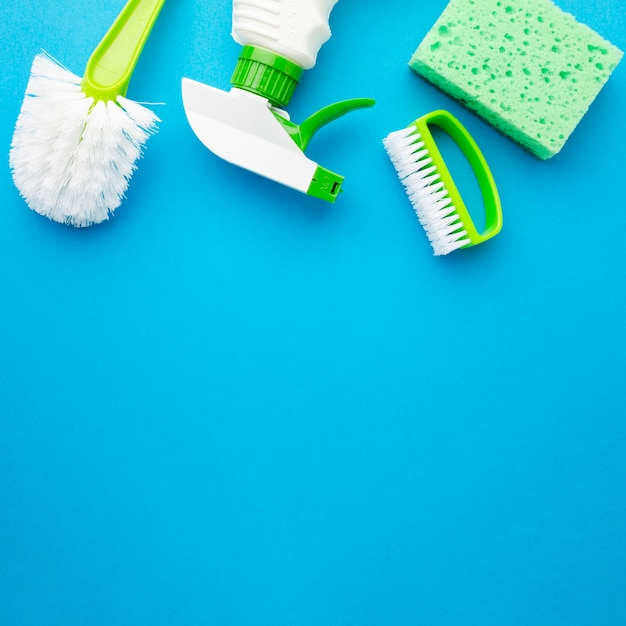 Hygiene-kit mit textfreiraum Kostenlose Fotos