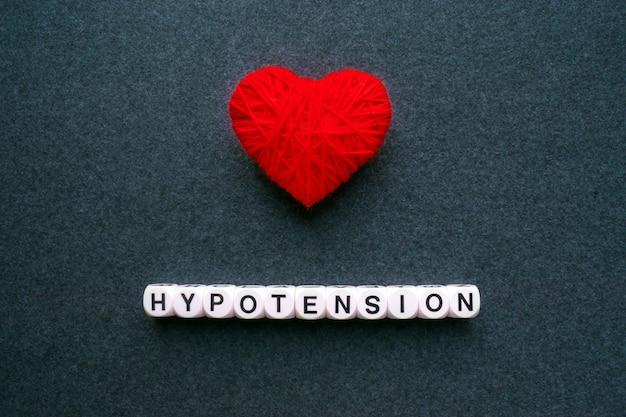 Hypotonie - niedriger blutdruck. worthypotonie Premium Fotos
