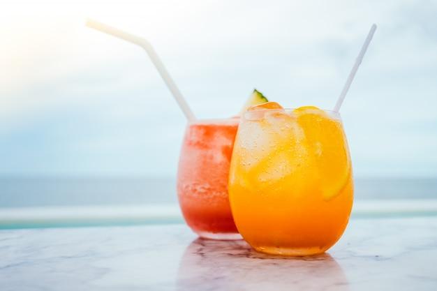 Iced trinken cocktails glas Kostenlose Fotos